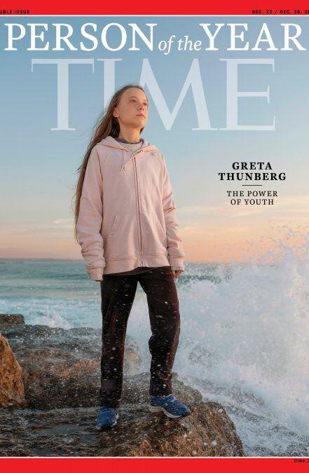 Para revista Time, la activista climática Greta Thünberg es el personaje de 2019