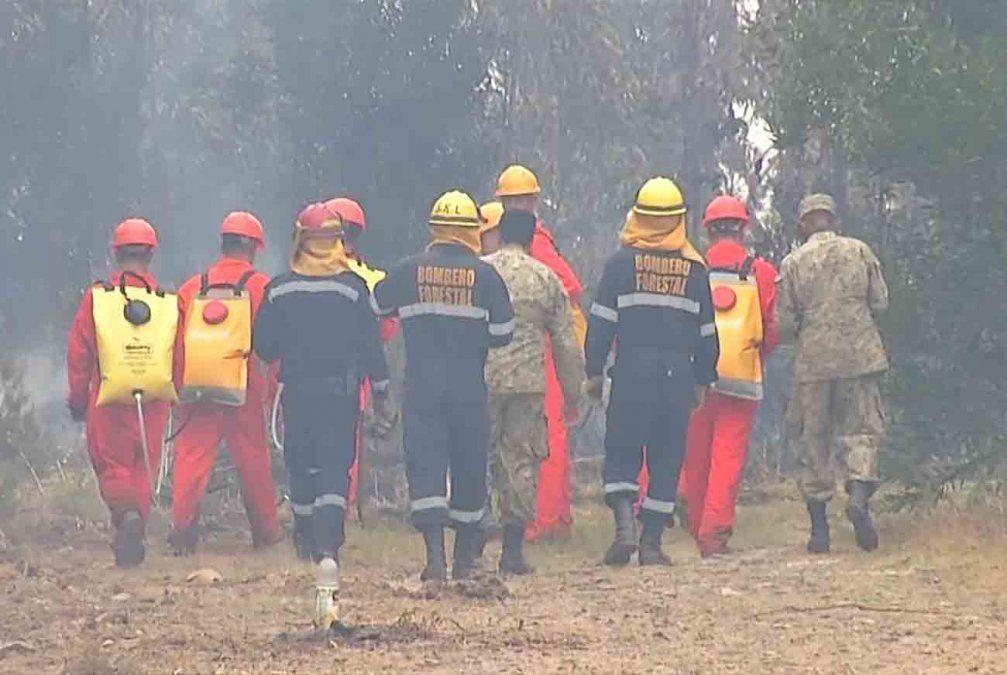 Sindicato policial asegura que faltan 1.200 bomberos en todo el país