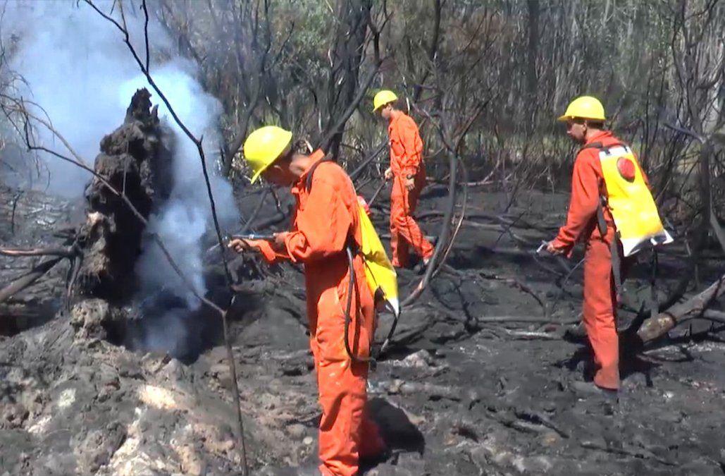 Incendio en La Esmeralda afectó más de 2.000 hectáreas y 16 viviendas fueron destruidas