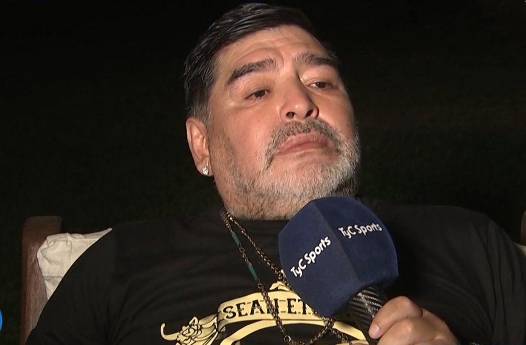 Diego Maradona contó cuándo y por qué dejó de tomar cocaína