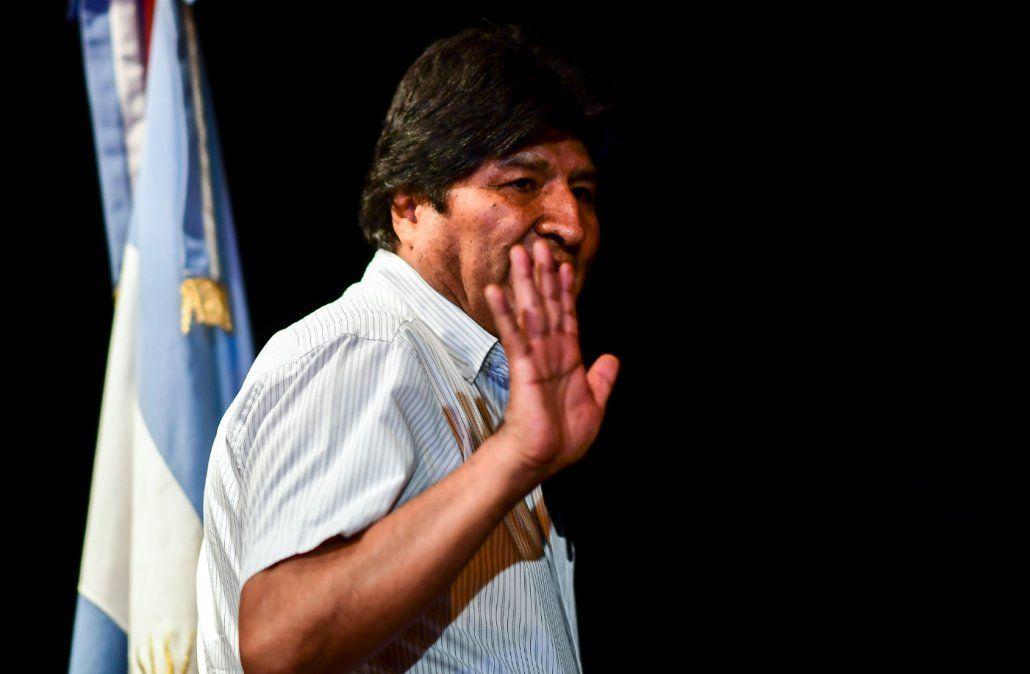 No me asusta la orden de detención injusta e inconstitucional, dice Evo Morales