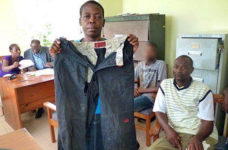 Los pantalones que usaba el joven Johnny Jean