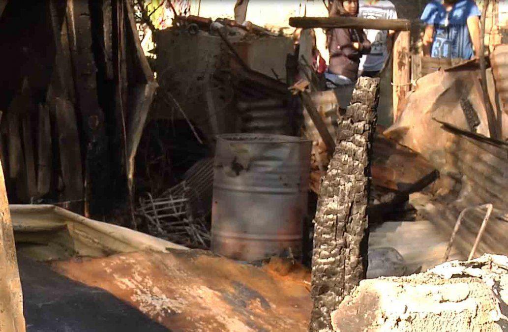 Un hombre de 68 años murió tras incendiarse su casa en Atlántida