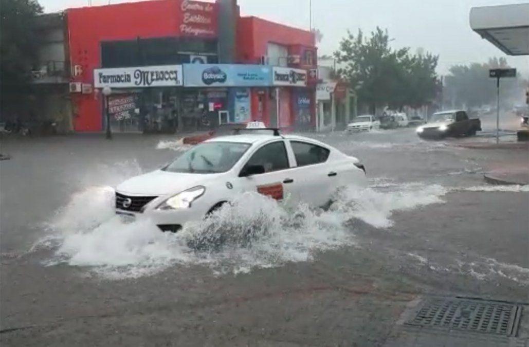 Lluvia intensa en Paysandú provocó inundaciones en zonas bajas de la ciudad