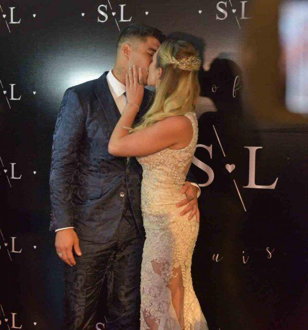 Luis Suárez y Sofia Balbi renovaron sus votos matrimoniales en el Hotel Fasano