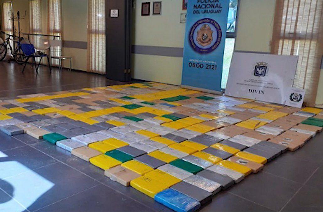 Prisión por narcotráfico a los dos detenidos por la cocaína incautada en Río Negro