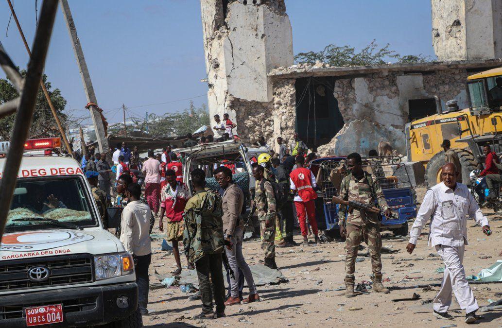 Asciende a 81 muertos el balance del atentado en la capital de Somalia