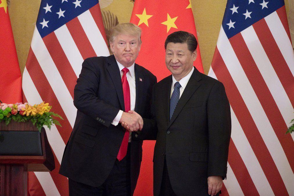 Trump y Xi Jinping juntos tras tener charlas reveladoras y muy sinceras