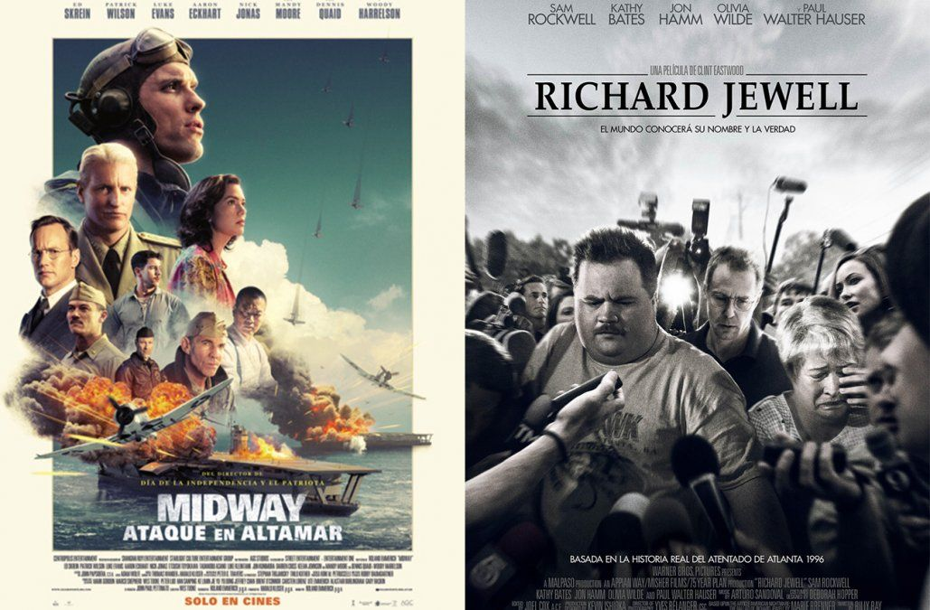 Midway: ataque en alta mar y El caso de Richard Jewell, lo que hay para ver en el cine