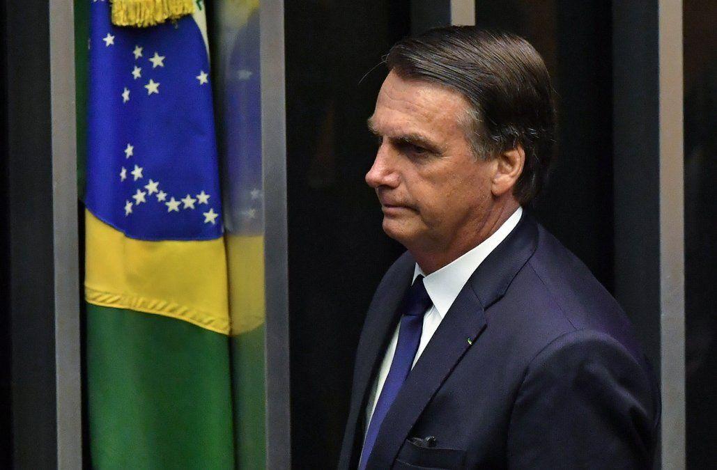 Bolsonaro anuncia que tiene una hernia en el abdomen