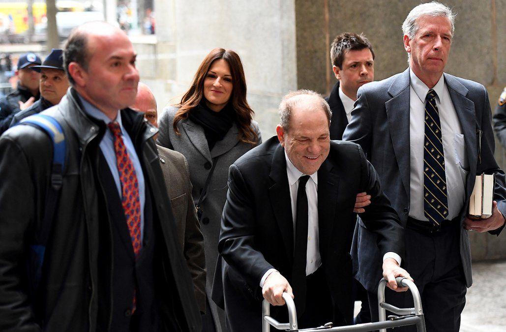 Comenzó en Nueva York el juicio de Harvey Weinstein por delitos sexuales