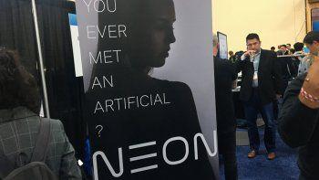"""Samsung presenta """"humanos artificiales"""" capaces de expresar emociones"""