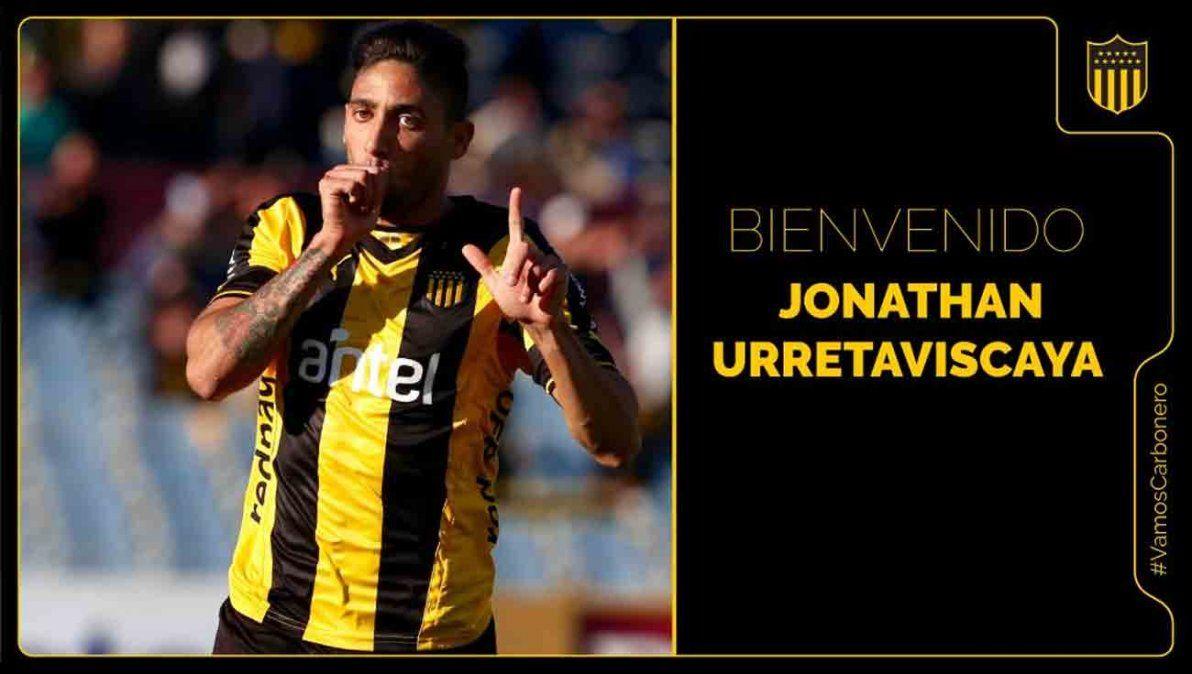 Jonathan Urretaviscaya vuelve a Peñarol tras su paso por Monterrey