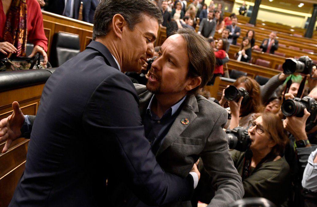 Tras ajustada votación, Pedro Sánchez es el nuevo presidente de España