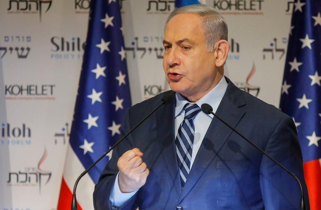Netanyahu advierte a Irán de una respuesta rotunda en caso de ataque contra Israel