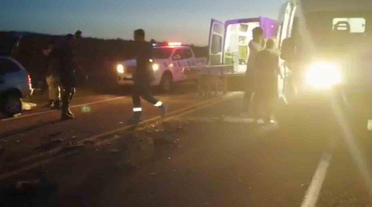 Dos jóvenes, un bebé y una mujer fallecieron en un accidente próximo a la Posta del Chuy