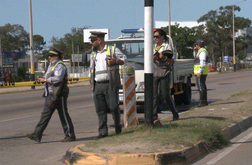Inspectores de tránsito de Canelones están de paro por la agresión a tres trabajadoras