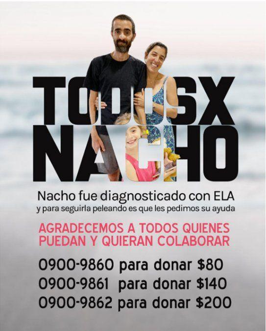 Nacho necesita la ayuda de todos para hacer un tratamiento experimental contra el ELA