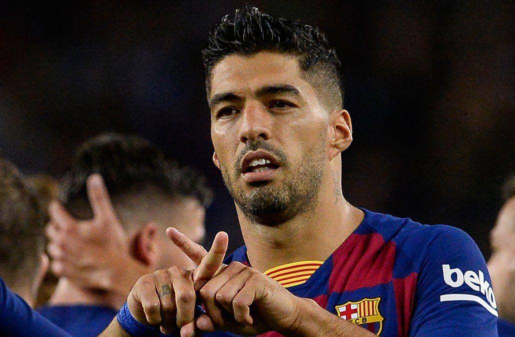 Luis Suárez recibió el alta médica y está a la orden del DT del Barça
