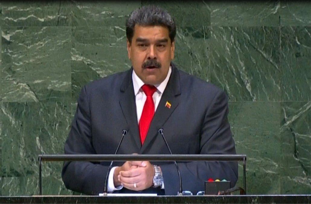 Foto: Maduro en la Asamblea General de Naciones Unidas.