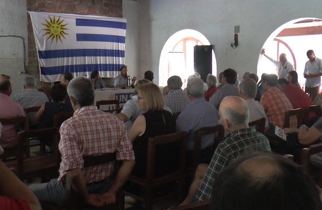 Un Solo Uruguay se reunió para preparar el acto del 23 de enero en Durazno