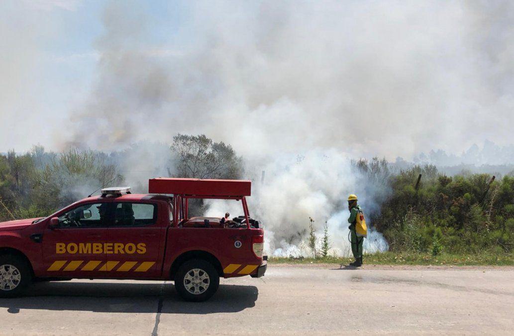 Incendio forestal en Melilla sigue fuera de control y ya quemó más de 150 hectáreas