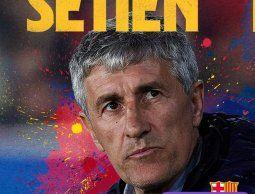Barcelona cesó a Valverde y anunció la contratación de Quique Setién