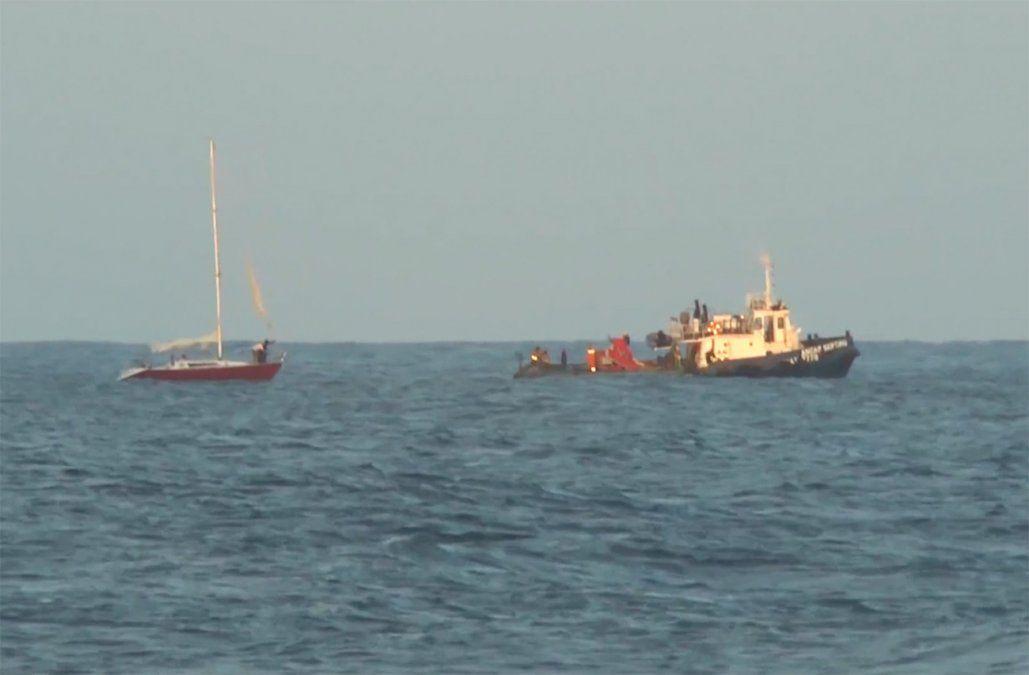 11 personas fueron rescatadas de las aguas por la Armada en 48 horas