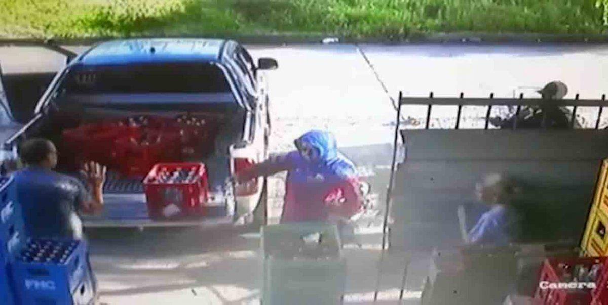 Un comerciante fue herido de dos disparos en el pecho en un intento de robo