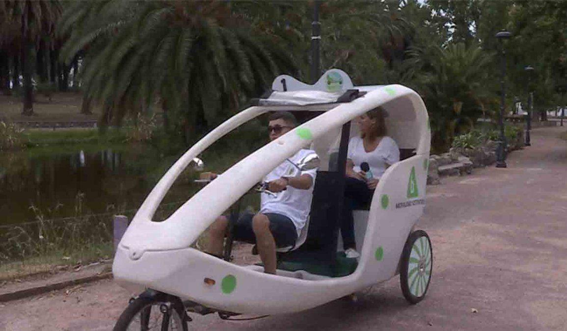 Presentan nuevos vehículos sustentables para pasear por el Parque Rodó