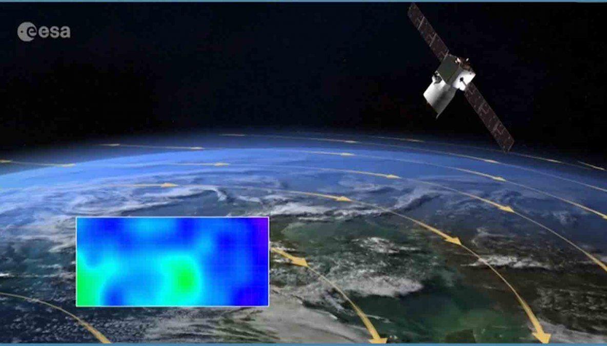 Las luces que se vieron en el cielo son microsatélites de la empresa SpaceX
