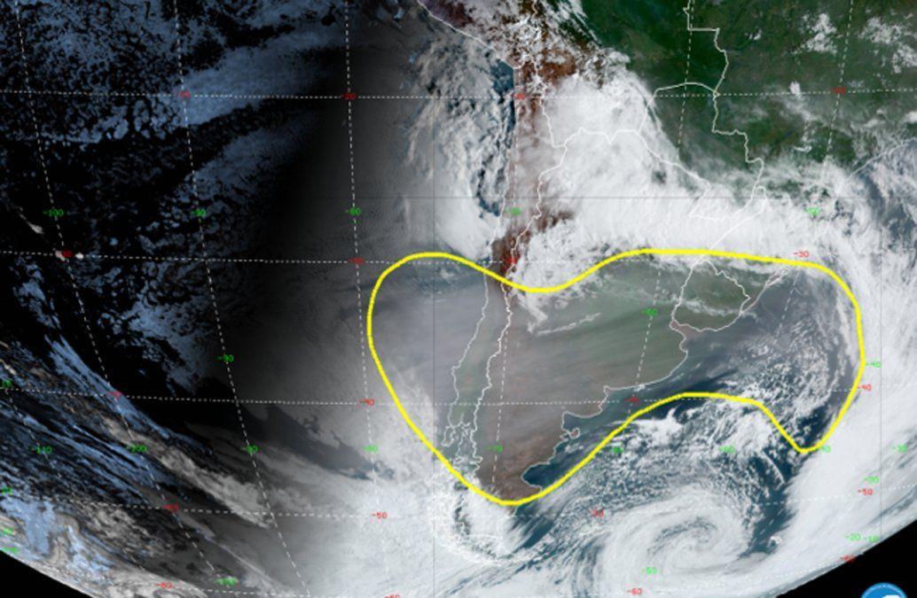 Volvió a Uruguay el humo de los incendios en Australia y se notará con la salida y puesta del Sol