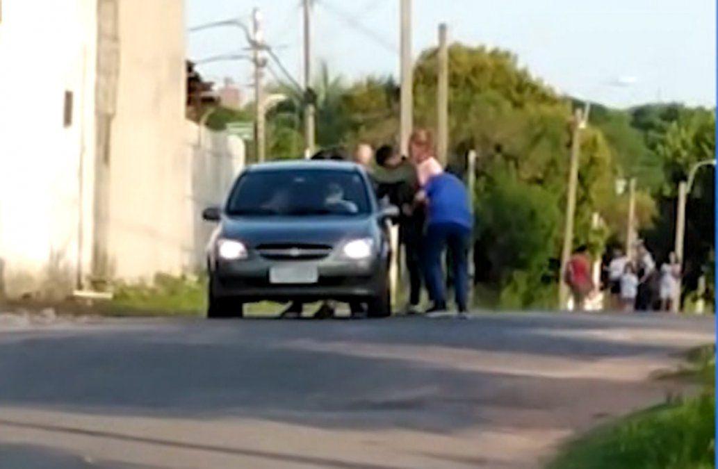 Se entregaron los dos sospechosos de matar al policía David Texeira en ruta 5