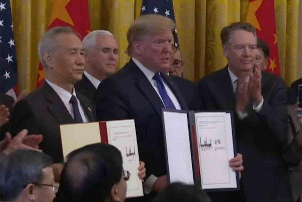 Acuerdo entre Estados Unidos y China pondría fin a la guerra comercial