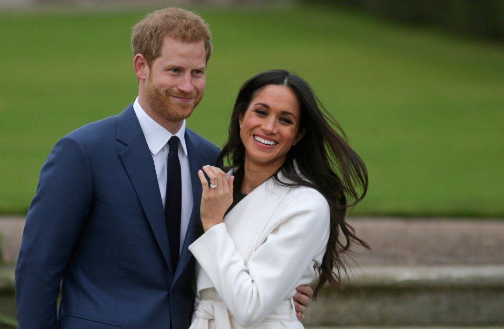 El príncipe Enrique y Meghan Markle anunciaron el nacimiento de su hija