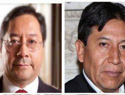 altText(Evo Morales ya eligió a sus delfines electorales: Luis Arce y David Choquehuanca)}