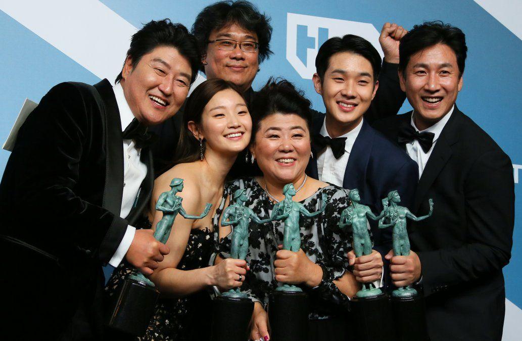 Elenco de la película sucoreana Parasite
