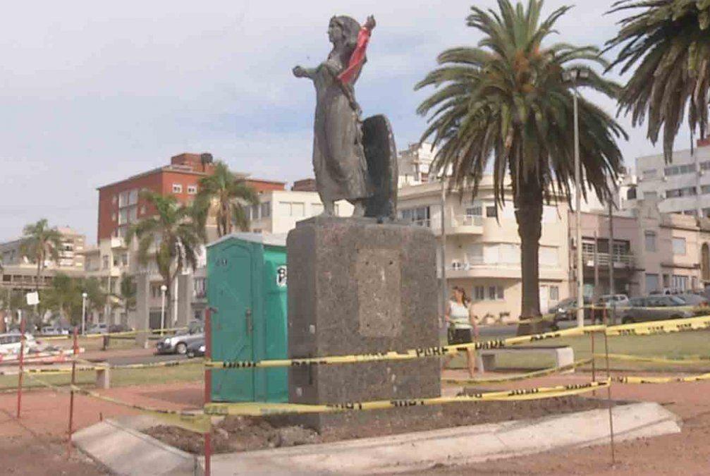 Más de 11.000 dólares costará la remodelación del monumento a Yemanjá