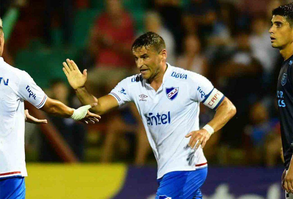 Nacional goleó 5-3  a Atlético de Rafaela en Trinidad
