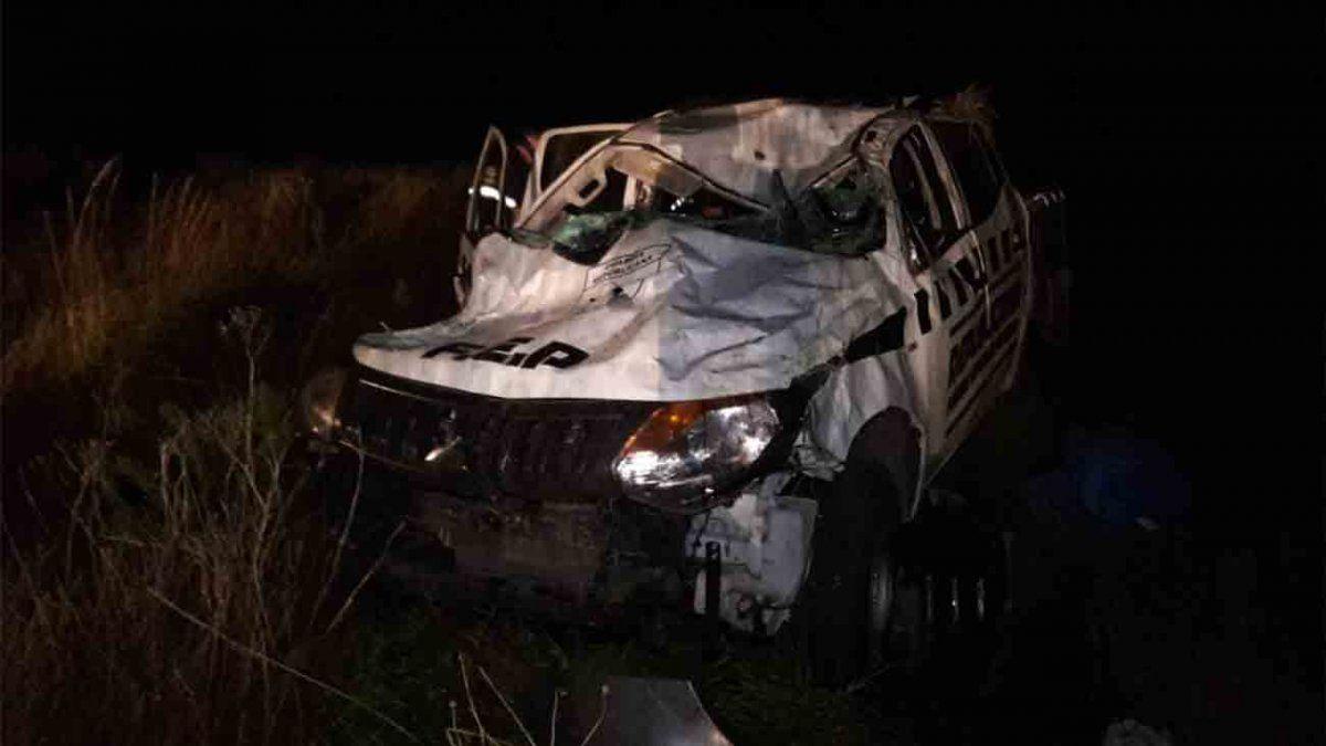 Un policía de la Republicana falleció en un accidente de tránsito