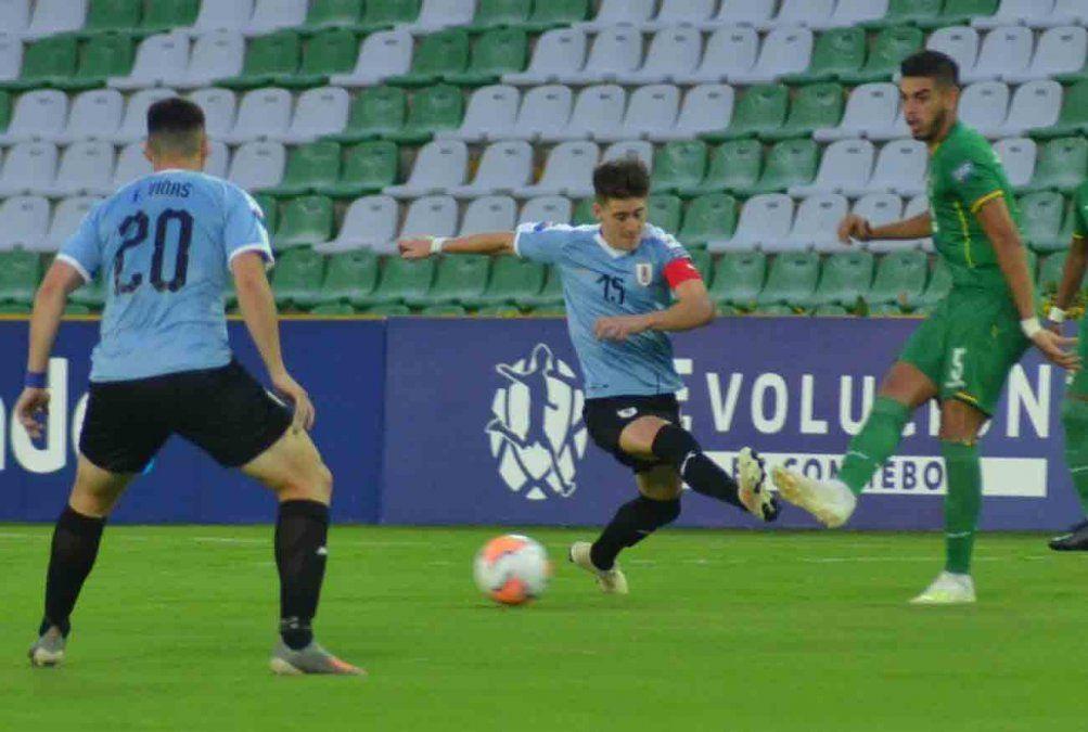 Uruguay cayó 2-3 ante Bolivia por el Preolímpico Sub23