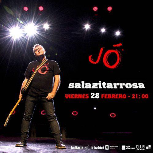 El artista español Jó presenta Redención en la Sala Zitarrosa