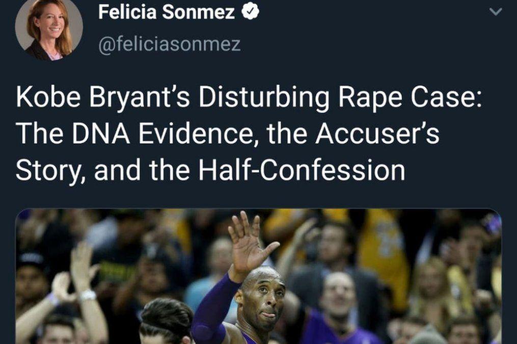 Washington Post suspendió a una periodista por un tweet contra Kobe Bryant