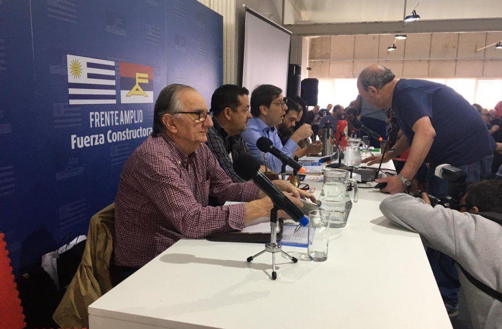 Foto: Plenario del FA (archivo).