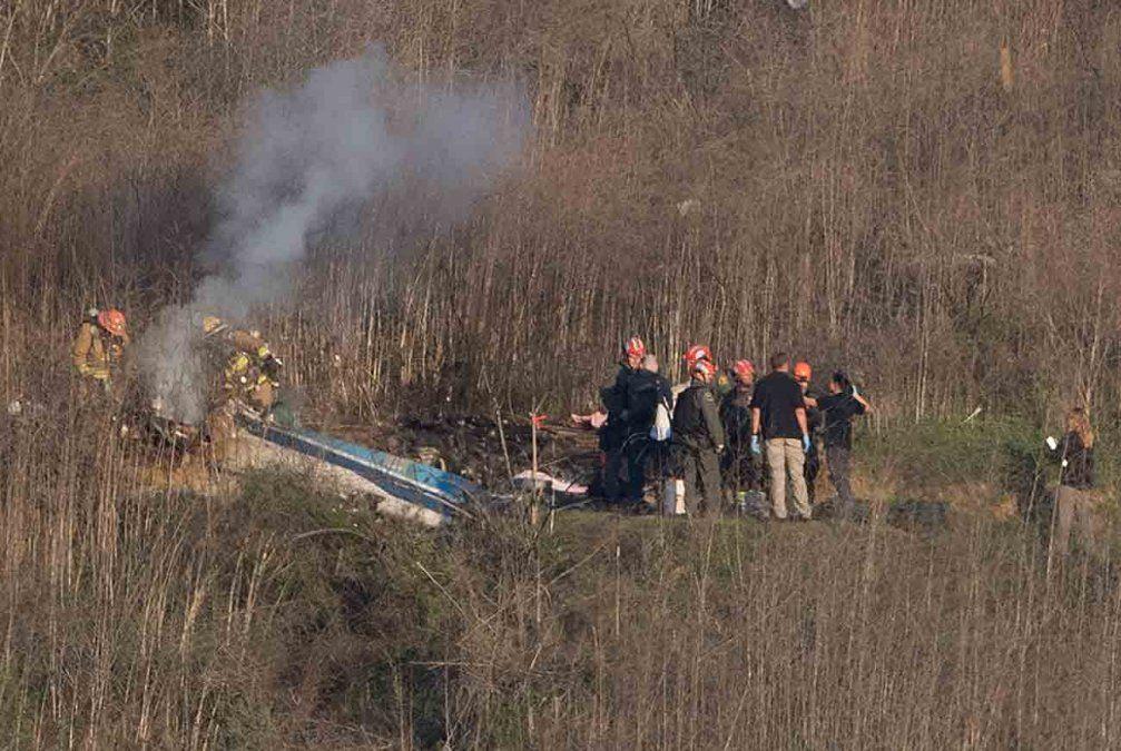 Autoridades no hallan señales de fallas mecánicas en el accidente de Kobe Bryant