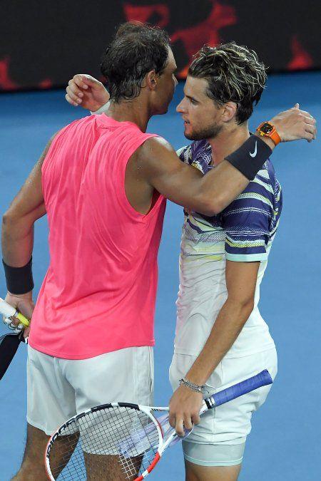 Thiem había perdido dos veces con Nadal en Roland Garros últimamente