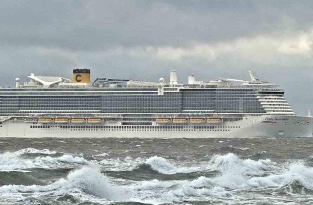 Crucero con 6.000 pasajeros, bloqueado cerca de Roma por casos sospechosos de coronavirus