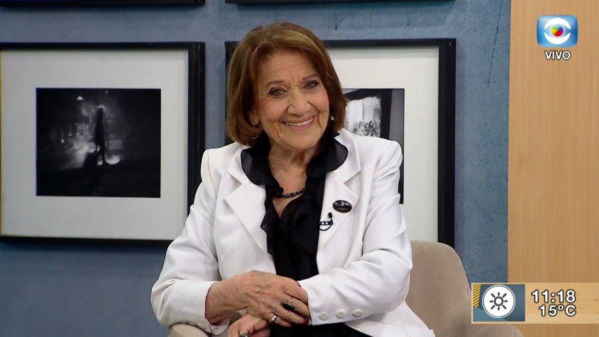 Cristina Morán empezó como actriz de radioteatros. Fue conductora de TV