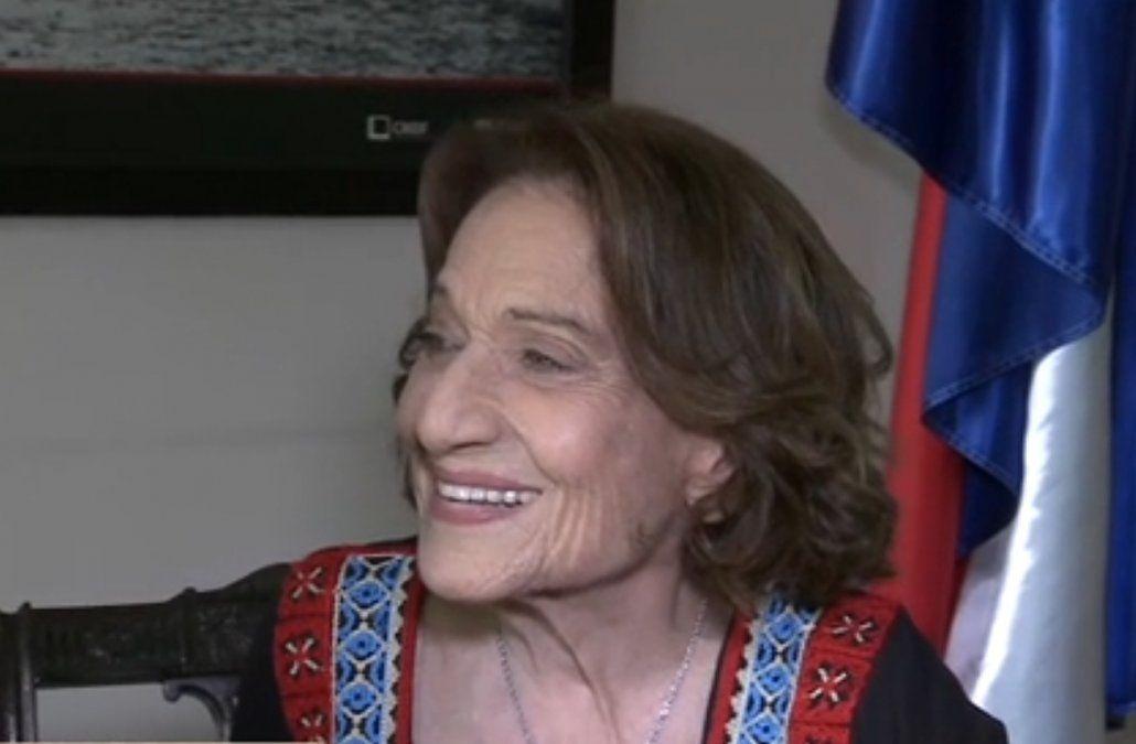 Cristina Morán fue declarada ciudadana ilustre de Montevideo
