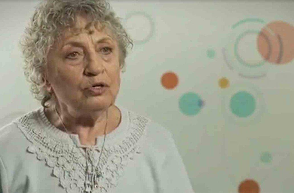 A los 93 años falleció Berta Shubaroff abuela de Macarena Gelman